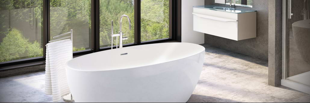 Aria Tub by Fleurco at Plumbateria